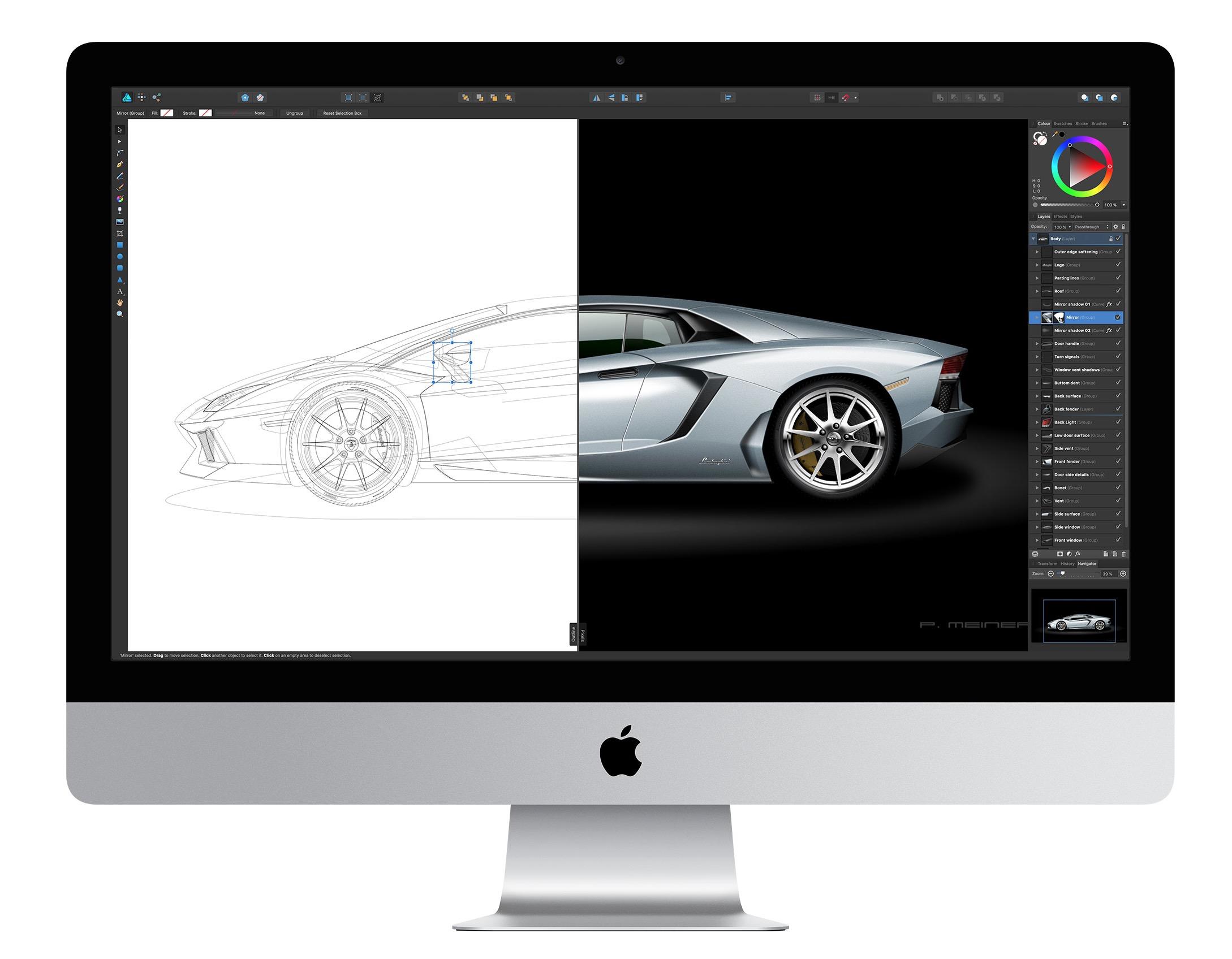 iMac e CAD