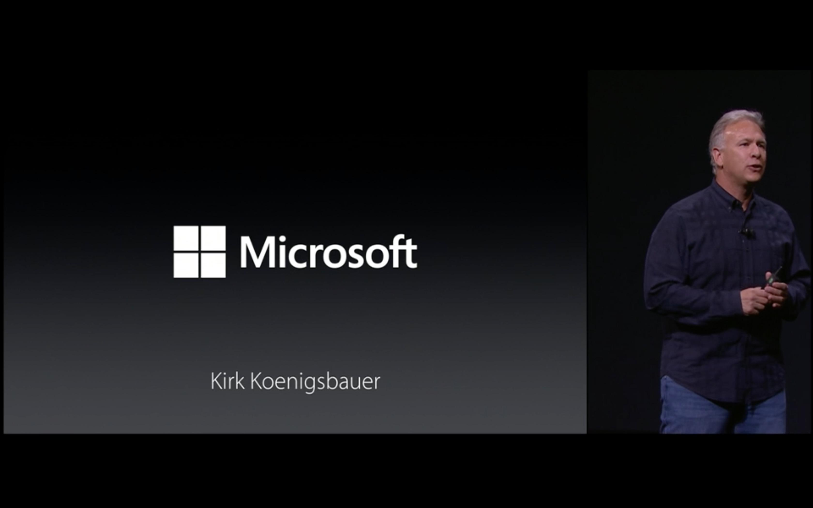 iPad Pro e Microsoft