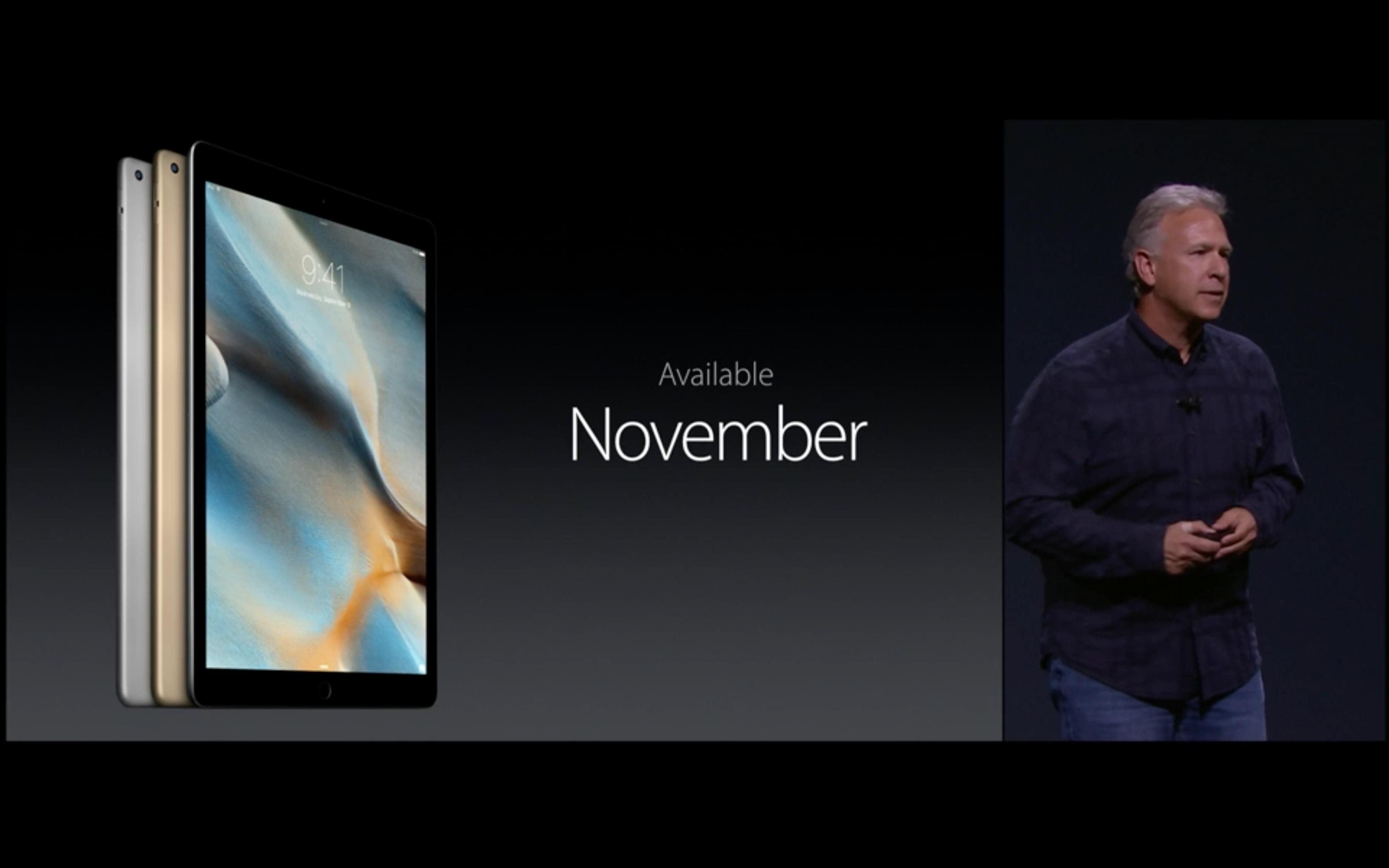 iPad Pro novembre