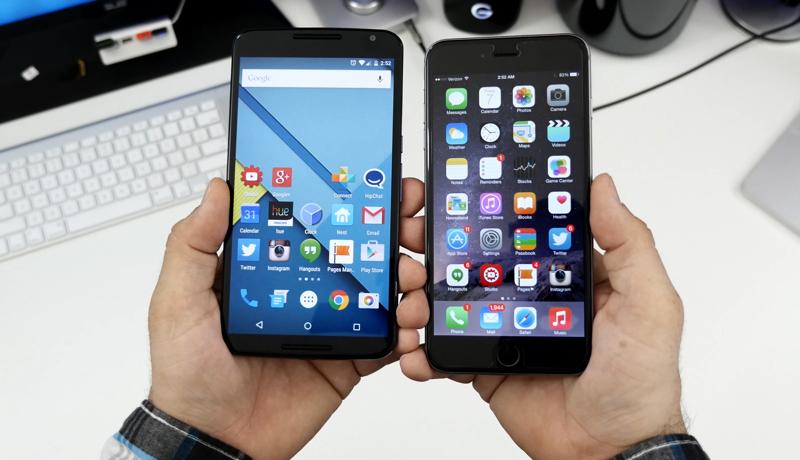 iPhone 6 Plus vs Nexus