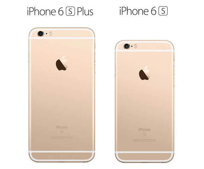 iPhone 6s Plus 6s gold