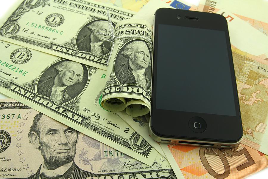 iPhone e soldi