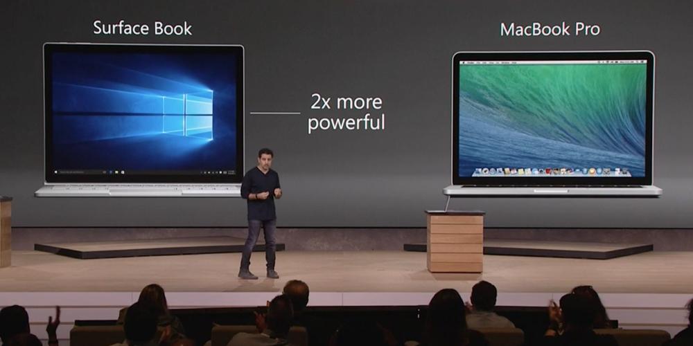surface book macbook pro